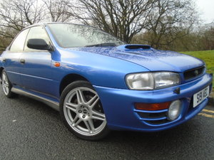 Subaru  Impreza 2.0 Turbo 2000 AWD Saloon 1998 (S)