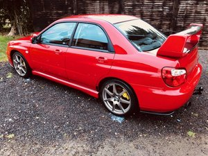 2003 Fantastic Subaru Impreza WRX Turbo PPP UK 271 bhp