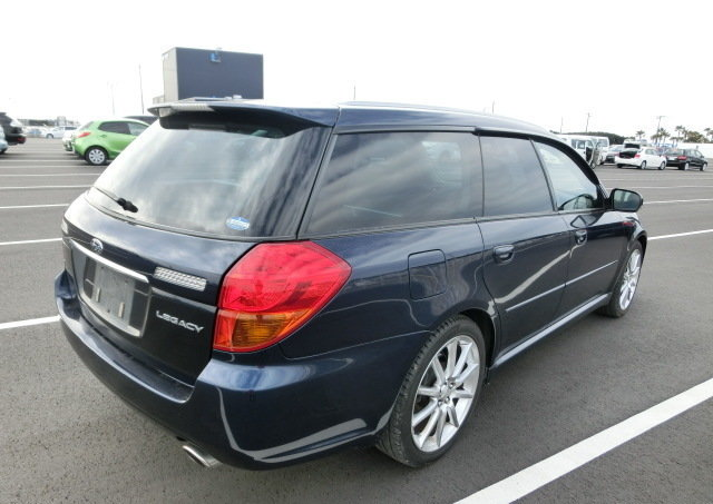 2007 SUBARU LEGACY GT SPEC B TOURING * PEARL REGAL BLUE ( BP5 ) * For Sale (picture 2 of 6)