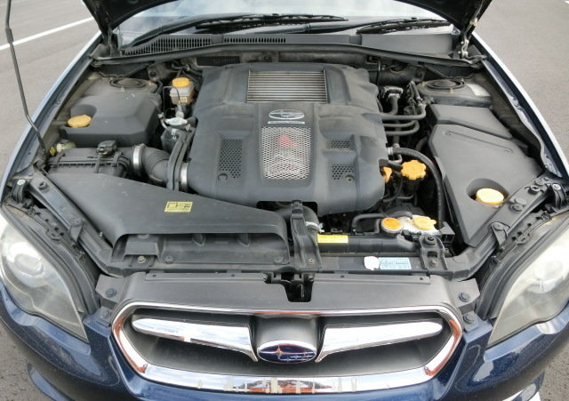 2007 SUBARU LEGACY GT SPEC B TOURING * PEARL REGAL BLUE ( BP5 ) * For Sale (picture 6 of 6)