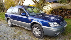 2003 03 53 Subaru Legacy Outback 3.0 H6 AWD Auto Estate 72k FSH SOLD