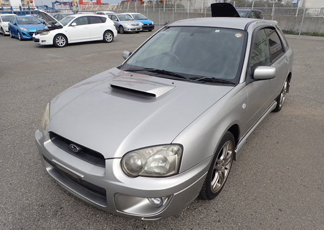 2004 SUBARU IMPREZA WRX TURBO SPORTWAGON 2.0 AUTOMATIC LOW MILES For Sale (picture 1 of 6)