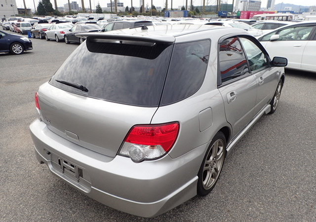 2004 SUBARU IMPREZA WRX TURBO SPORTWAGON 2.0 AUTOMATIC LOW MILES For Sale (picture 2 of 6)