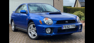 Original 2002 UK Subaru Impreza WRX