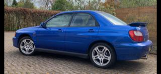 Original 2002 UK Subaru Impreza WRX For Sale (picture 2 of 5)