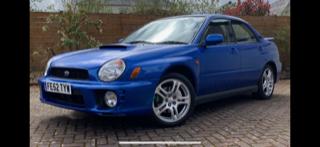 Original 2002 UK Subaru Impreza WRX For Sale (picture 3 of 5)