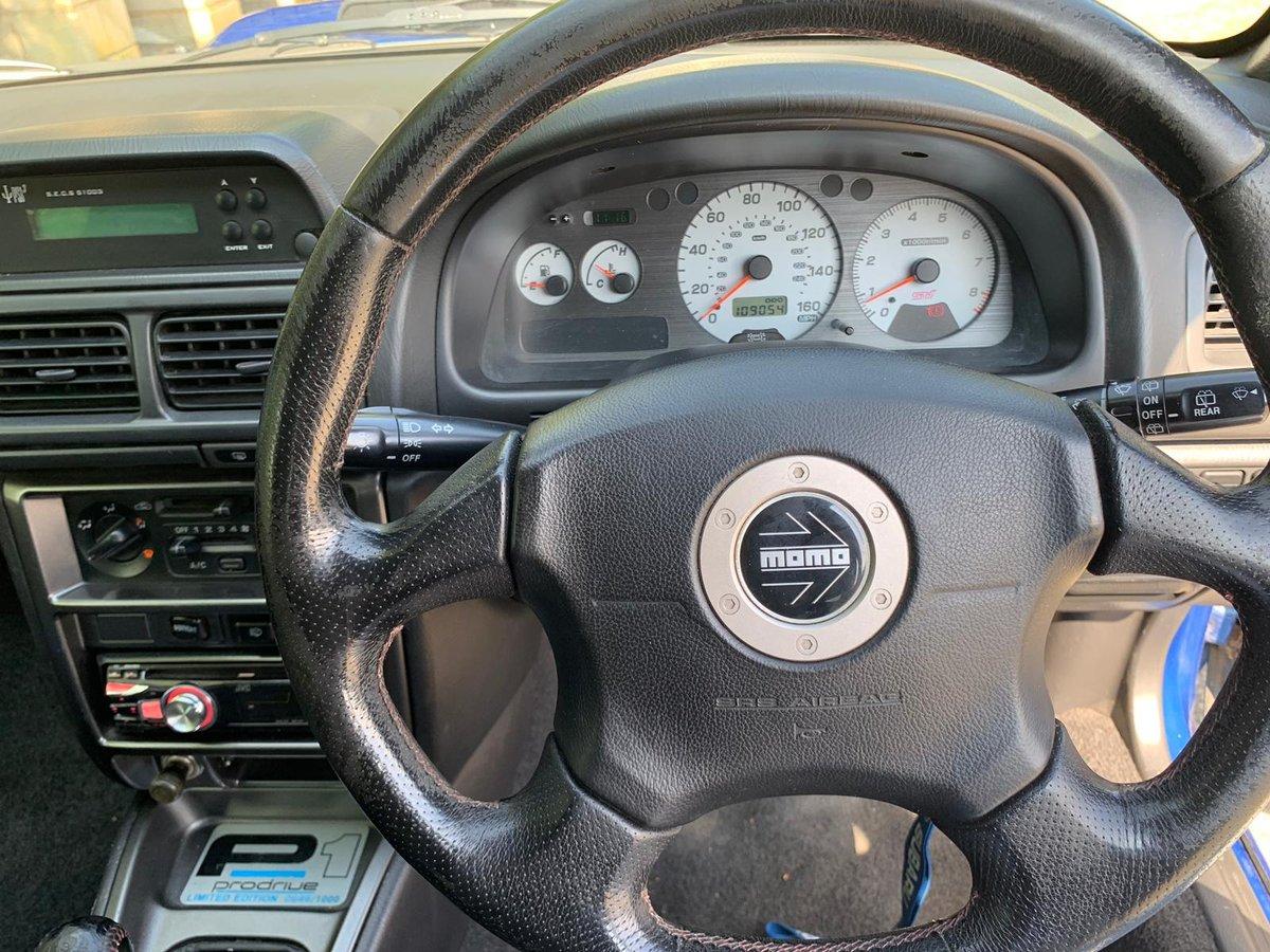 SUBARU IMPREZA 2.0 P1 TURBO AWD 2d 280 BHP 2001 / Y Reg For Sale (picture 5 of 6)