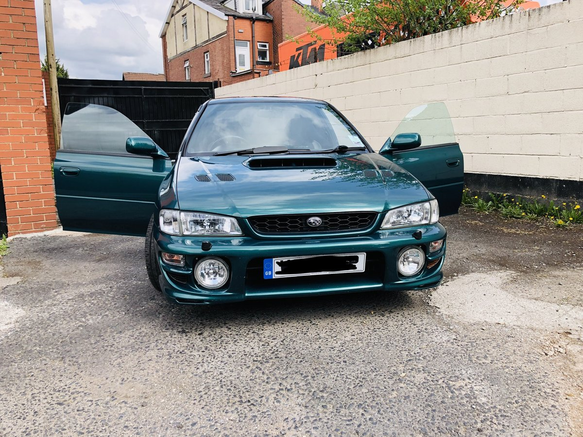Subaru Impreza Turbo 2000 AWD UK Spec Prodrive For Sale (picture 3 of 6)
