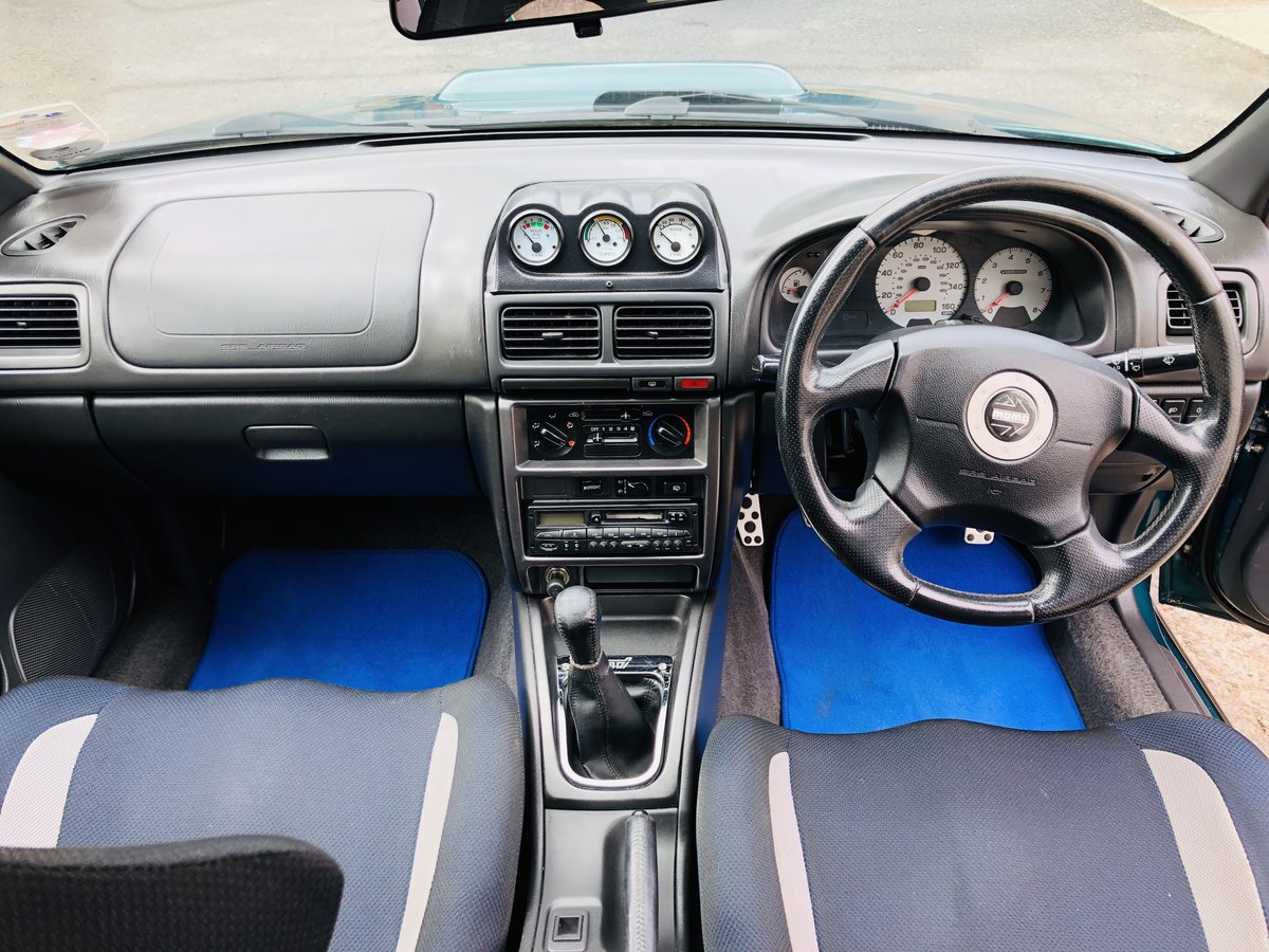 Subaru Impreza Turbo 2000 AWD UK Spec Prodrive For Sale (picture 6 of 6)