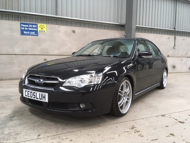 2005 Subaru Legacy R Auto at Morris Leslie Auction 17th August SOLD by Auction (picture 1 of 6)