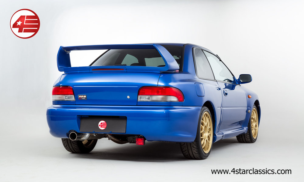 1998 Subaru Impreza 22B STI /// RARE /// 25k Miles! For Sale (picture 3 of 6)