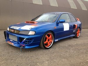 1998 Subaru Impreza WRX STI V4 Race Car at Morris Leslie Auction