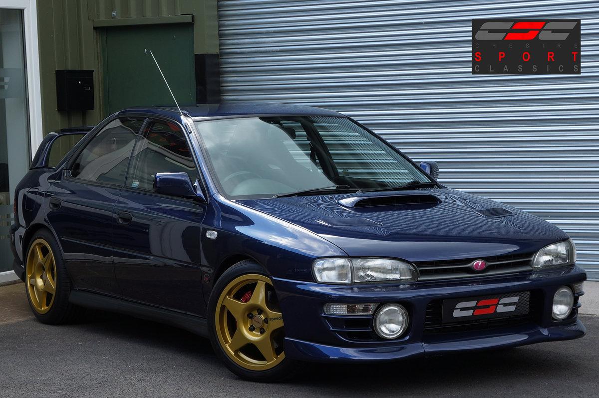 1995 Subaru Impreza STi Version 1 - no. 001/100, 1994, Restored SOLD (picture 1 of 6)