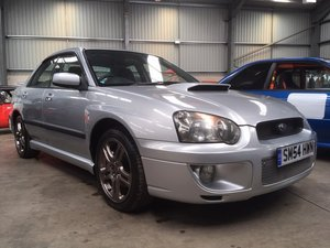 2004 Subaru Impreza WRX Turbo at Morris Leslie Auction 25th May