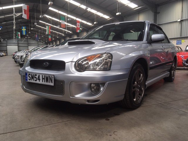 2004 Subaru Impreza WRX Turbo at Morris Leslie Auction 25th May SOLD by Auction (picture 2 of 5)