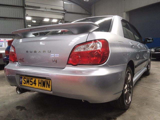 2004 Subaru Impreza WRX Turbo at Morris Leslie Auction 25th May SOLD by Auction (picture 4 of 5)