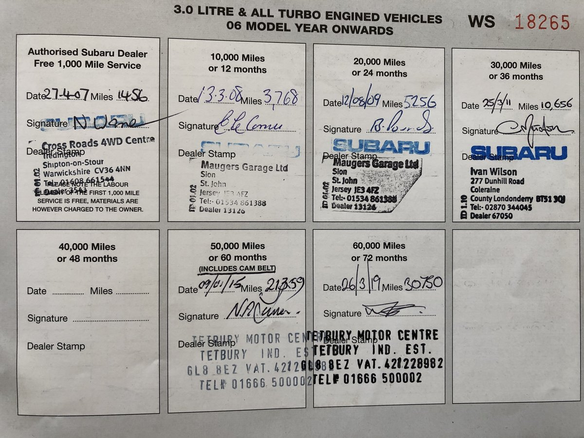 2007 Subaru Impreza RB320 Low Mileage Mint Condition For Sale (picture 3 of 6)