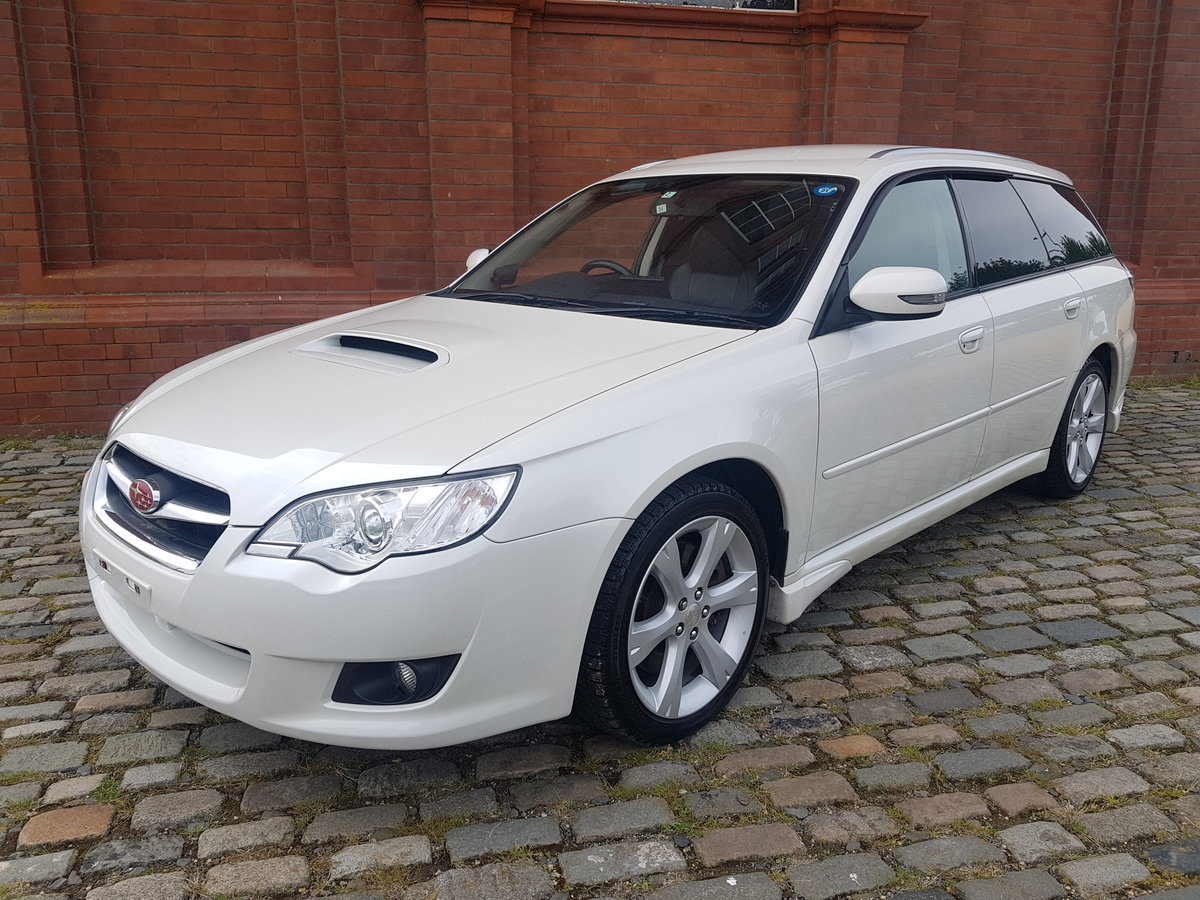 SUBARU LEGACY 2008 TOURING WAGON 2.0 GT SPEC 4X4 AUTOMATIC  SOLD (picture 1 of 6)