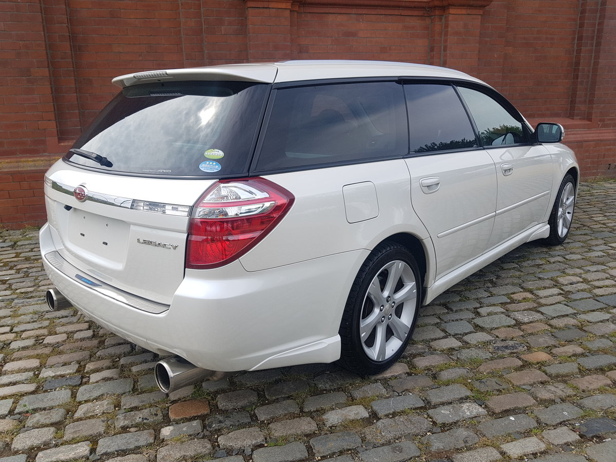 SUBARU LEGACY 2008 TOURING WAGON 2.0 GT SPEC 4X4 AUTOMATIC  SOLD (picture 2 of 6)