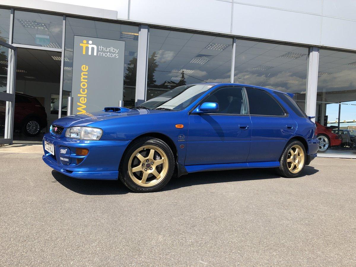 2000 Subaru Impreza WRX STi Sport Wagon LIMITED EDITION For Sale (picture 2 of 5)