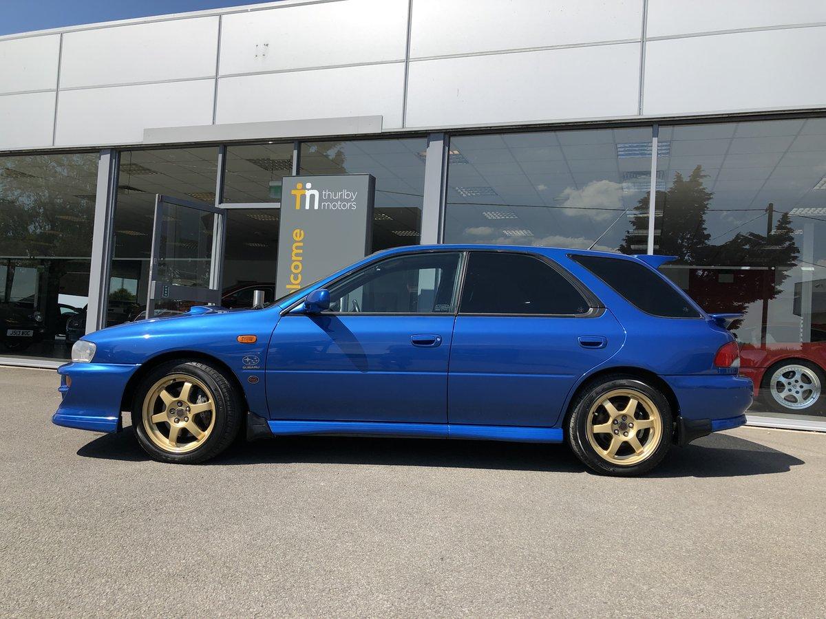 2000 Subaru Impreza WRX STi Sport Wagon LIMITED EDITION For Sale (picture 4 of 5)