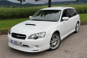 2003 Subaru Legacy Spec B Turbo (BP5) For Sale by Auction