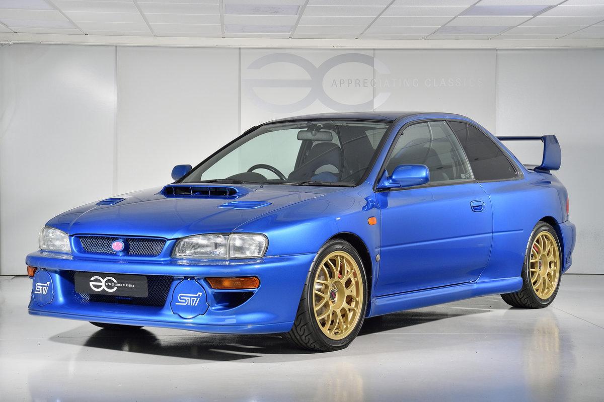 1998 Incredible Subaru Impreza 22B - Full Subaru History SOLD (picture 2 of 6)