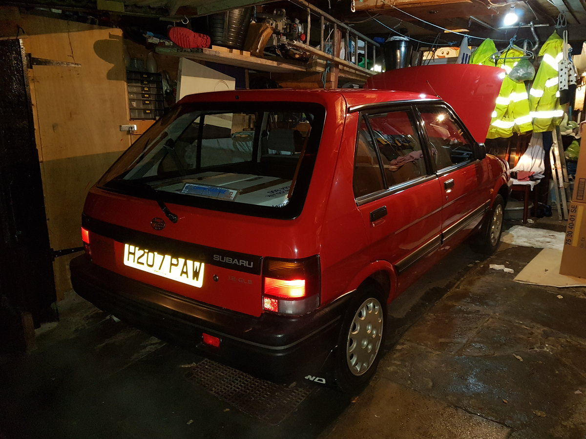 1991 Subaru Justy Incredible Condition & rare  For Sale (picture 2 of 5)