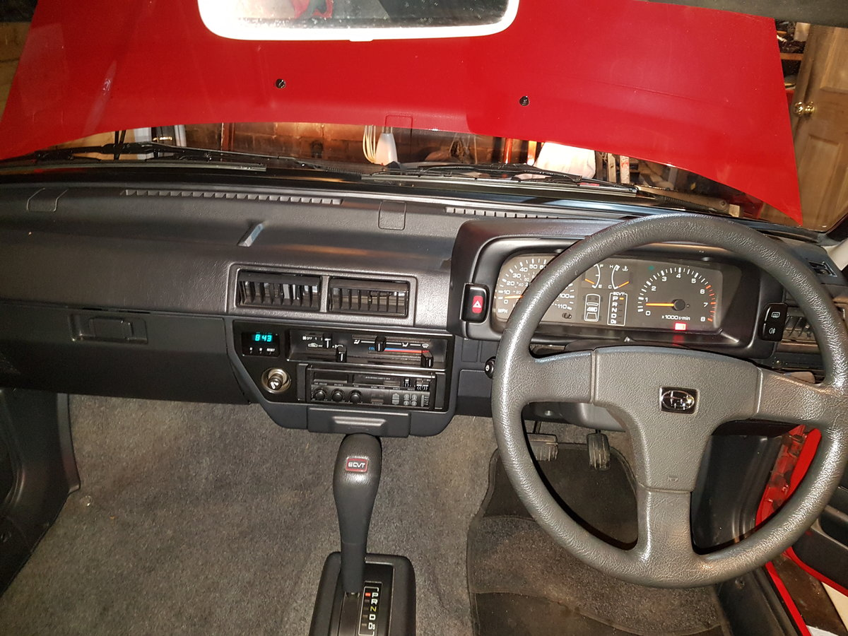 1991 Subaru Justy Incredible Condition & rare  For Sale (picture 4 of 5)