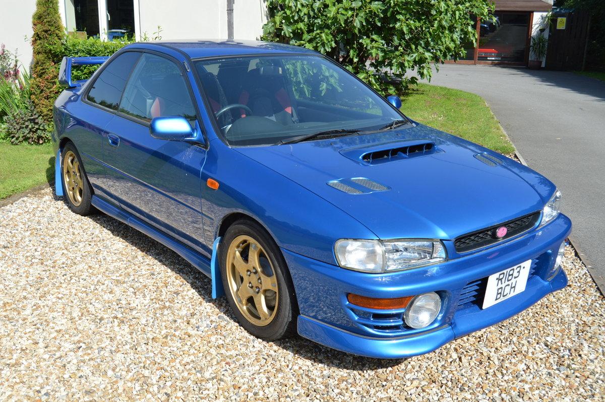 1998 Subaru Impreza Type R P1 SOLD (picture 1 of 6)