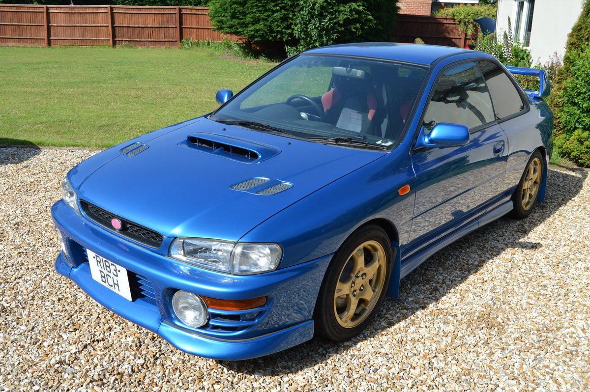 1998 Subaru Impreza Type R P1 SOLD (picture 2 of 6)