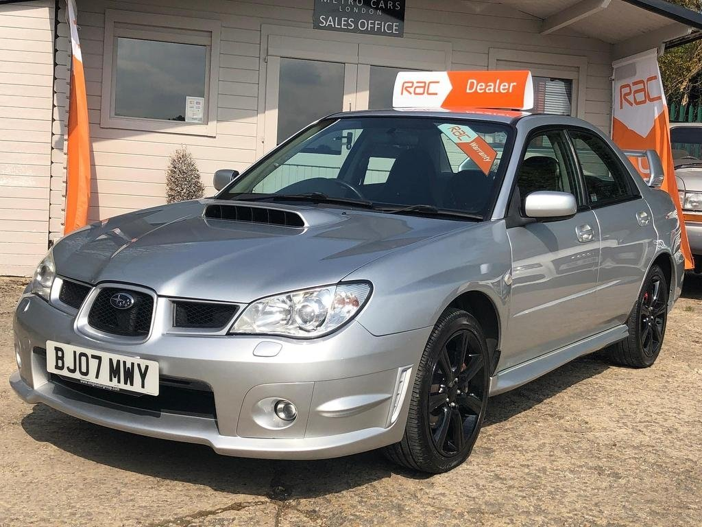 2007 Subaru Impreza 2.5 WRX 4dr RECENT TIMING BELT For Sale (picture 4 of 6)