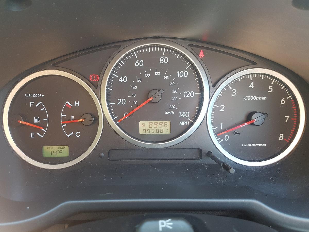 2005 Subaru Impreza,mint condition,non turbo,long Mot  For Sale (picture 5 of 6)