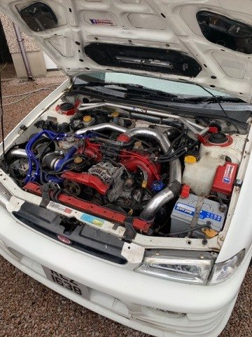 1998 SUBARU IMPREZA STI V4 GC8 GOOD SPEC JDM 2.0 NEWAGE For Sale (picture 6 of 6)