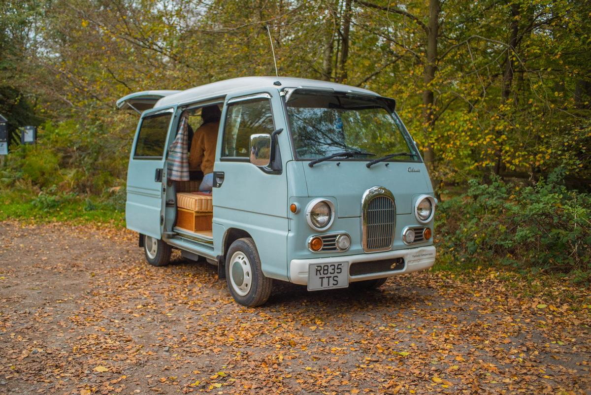 1998 Subaru Sambar Camper Van For Sale (picture 1 of 6)