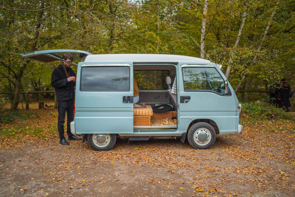 1998 Subaru Sambar Camper Van For Sale (picture 3 of 6)