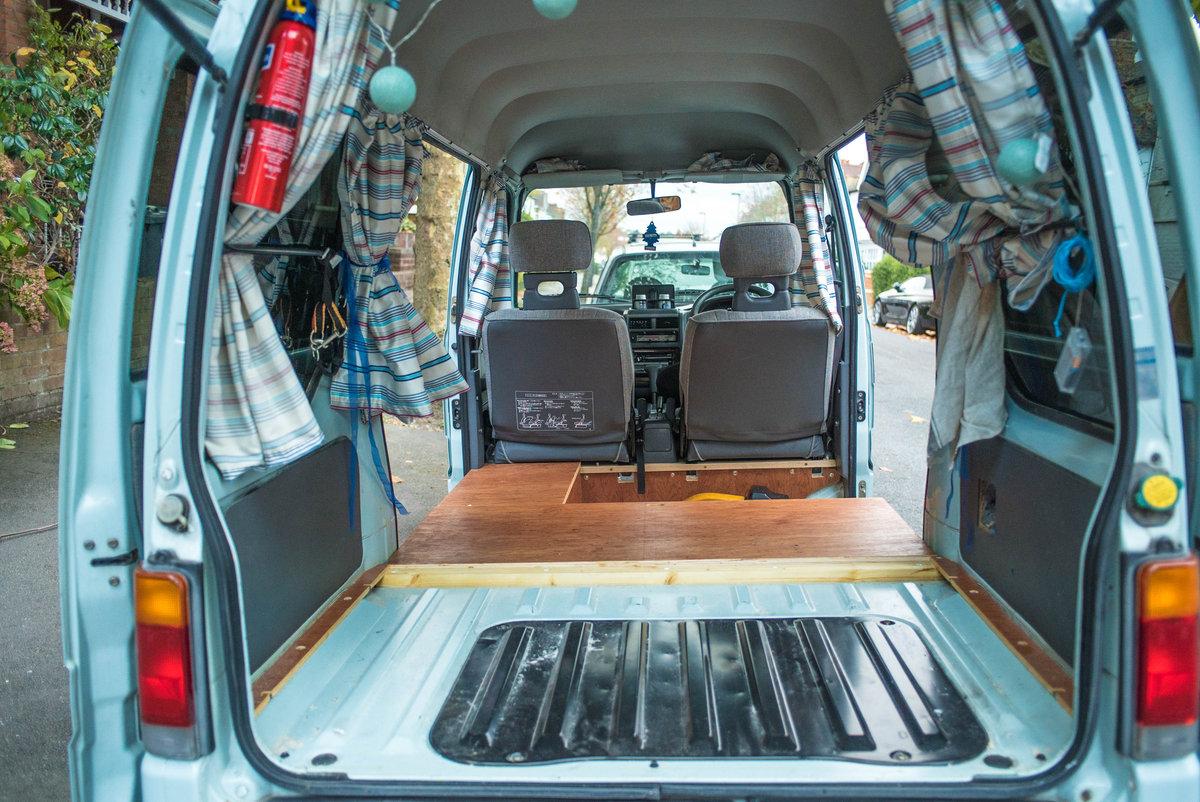 1998 Subaru Sambar Camper Van For Sale (picture 5 of 6)
