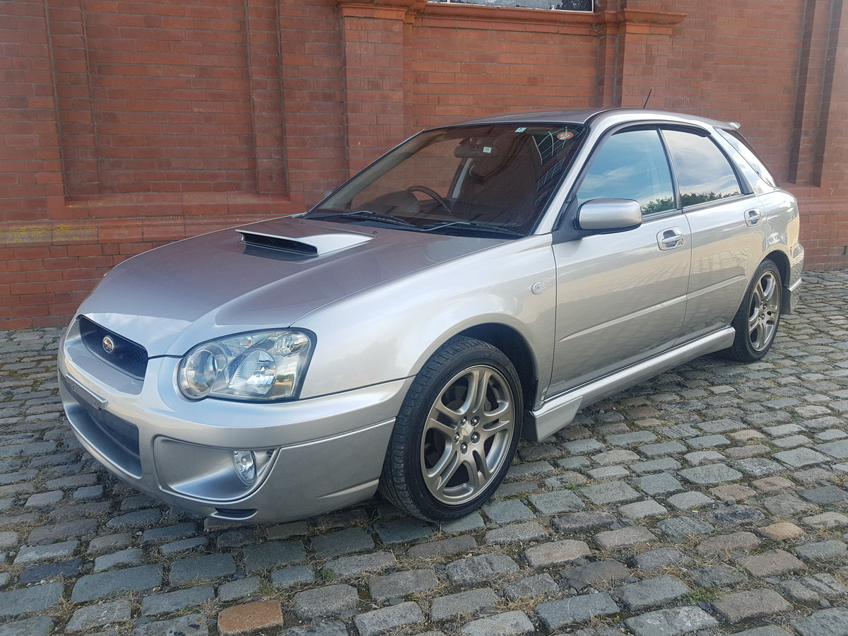 2004 SUBARU IMPREZA WRX TURBO SPORTWAGON 2.0 AUTOMATIC LOW MILES SOLD (picture 1 of 6)