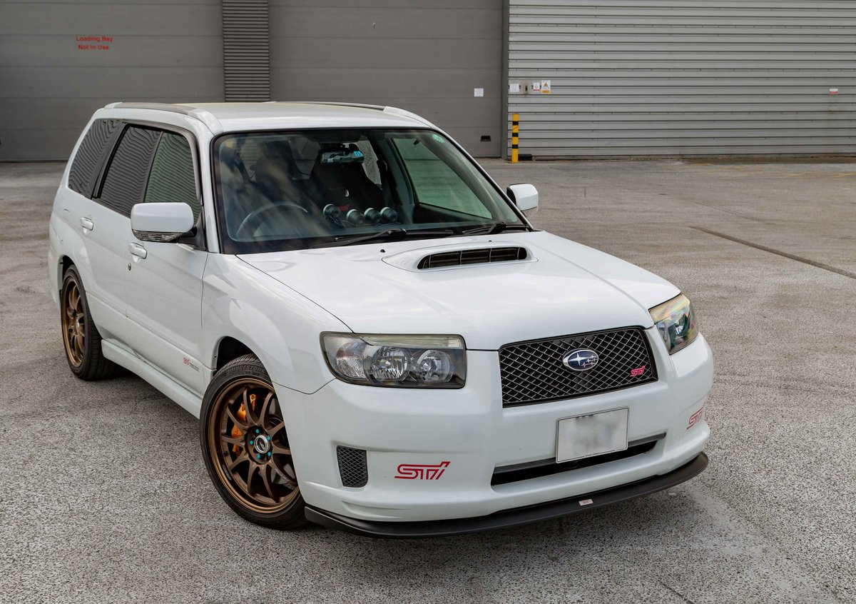 2006 Subaru Forester STI 72,398 miles from new SOLD (picture 1 of 6)