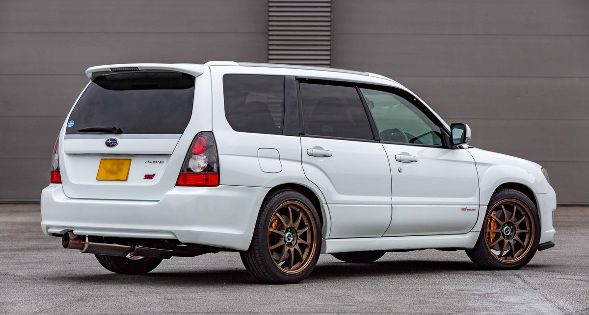 2006 Subaru Forester STI 72,398 miles from new SOLD (picture 3 of 6)