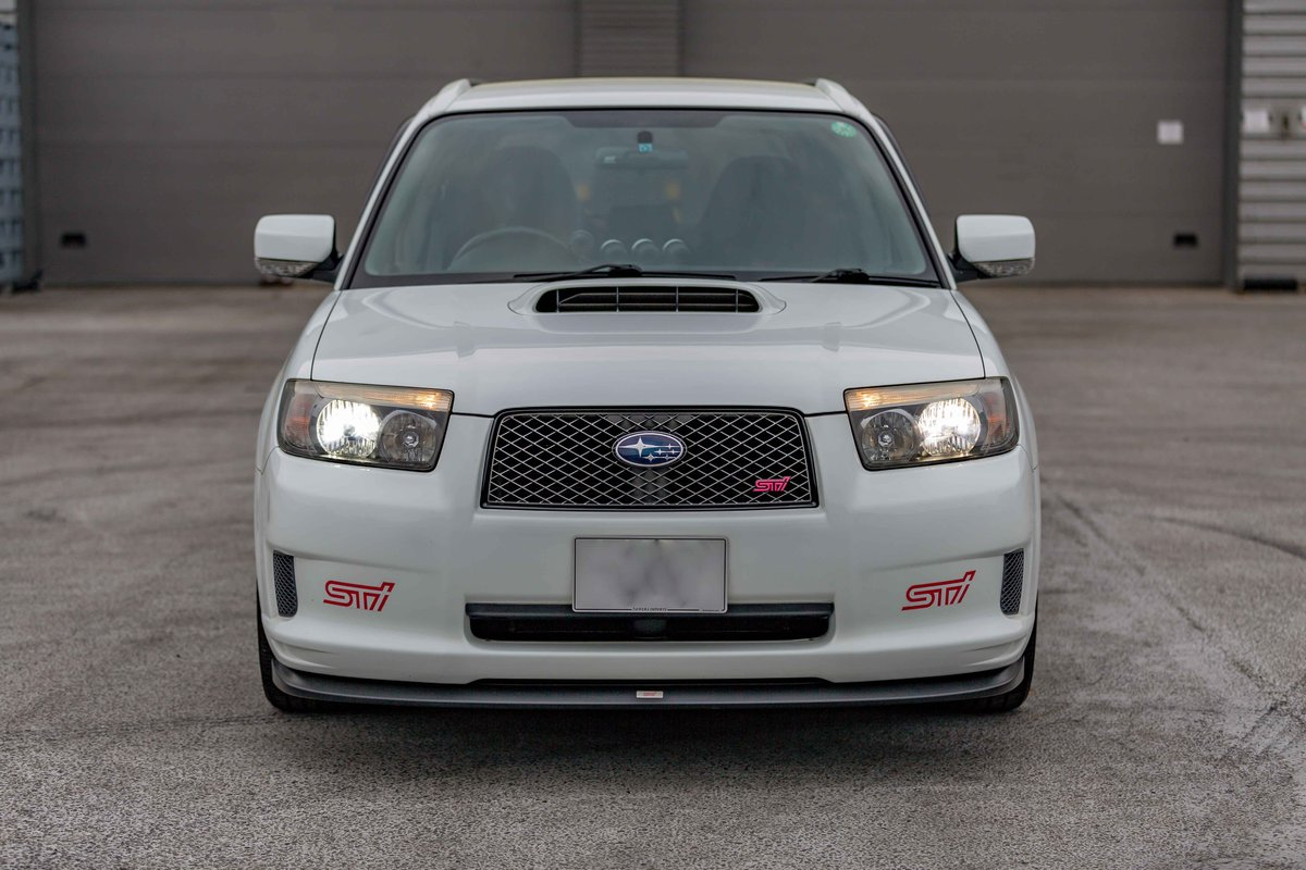 2006 Subaru Forester STI 72,398 miles from new SOLD (picture 4 of 6)