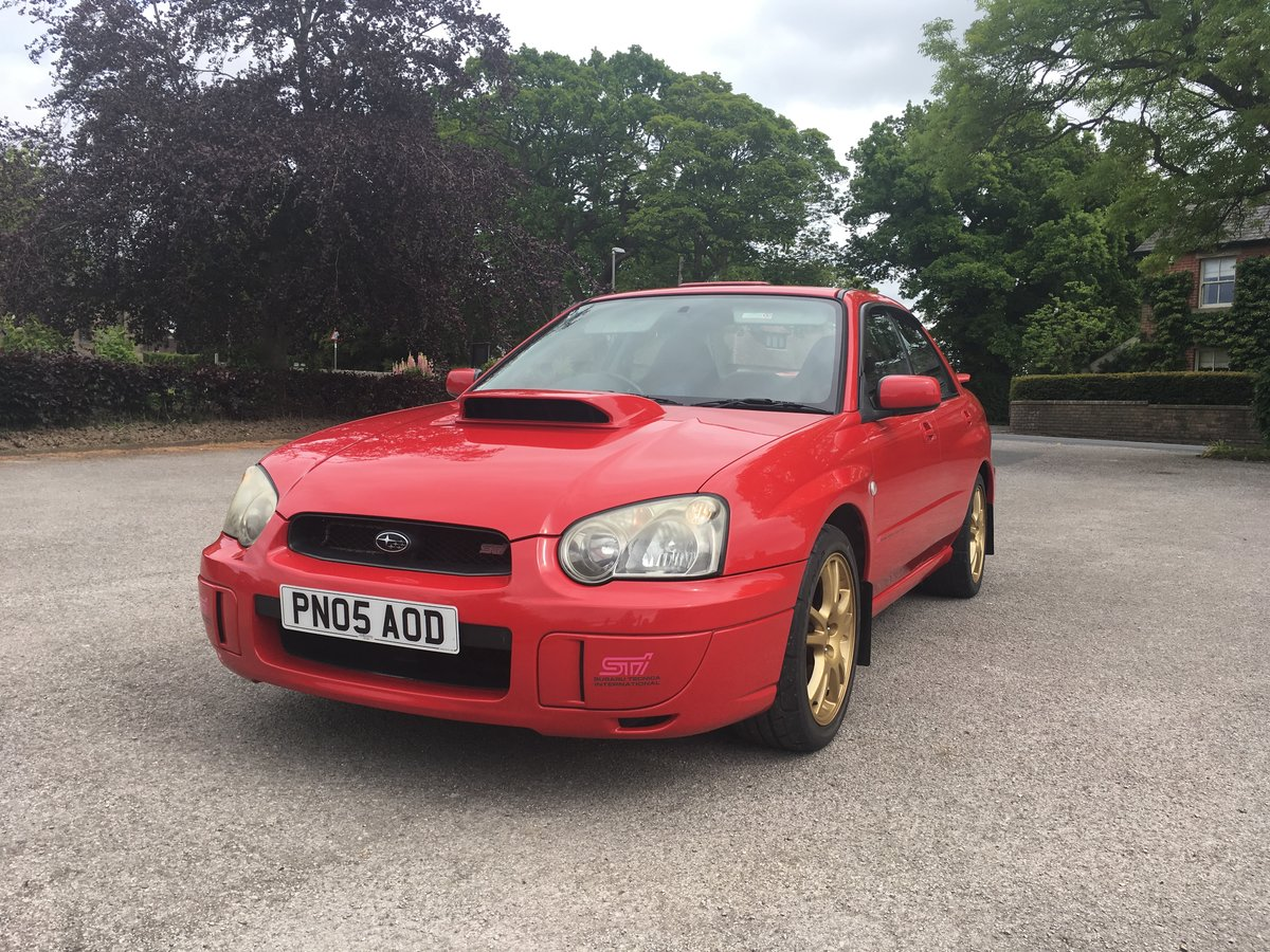 2005 Subaru Impreza WRX STI Spec C For Sale (picture 1 of 6)