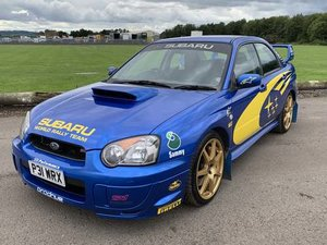 2003 Subaru Impreza WRX STI Type UK Prodrive at Morris Leslie SOLD by Auction
