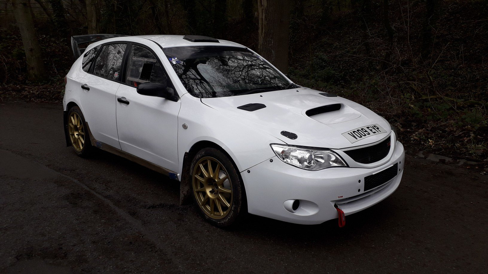 2009 subaru impreza n14 rally car full msa legal ready to rally  SOLD (picture 3 of 6)