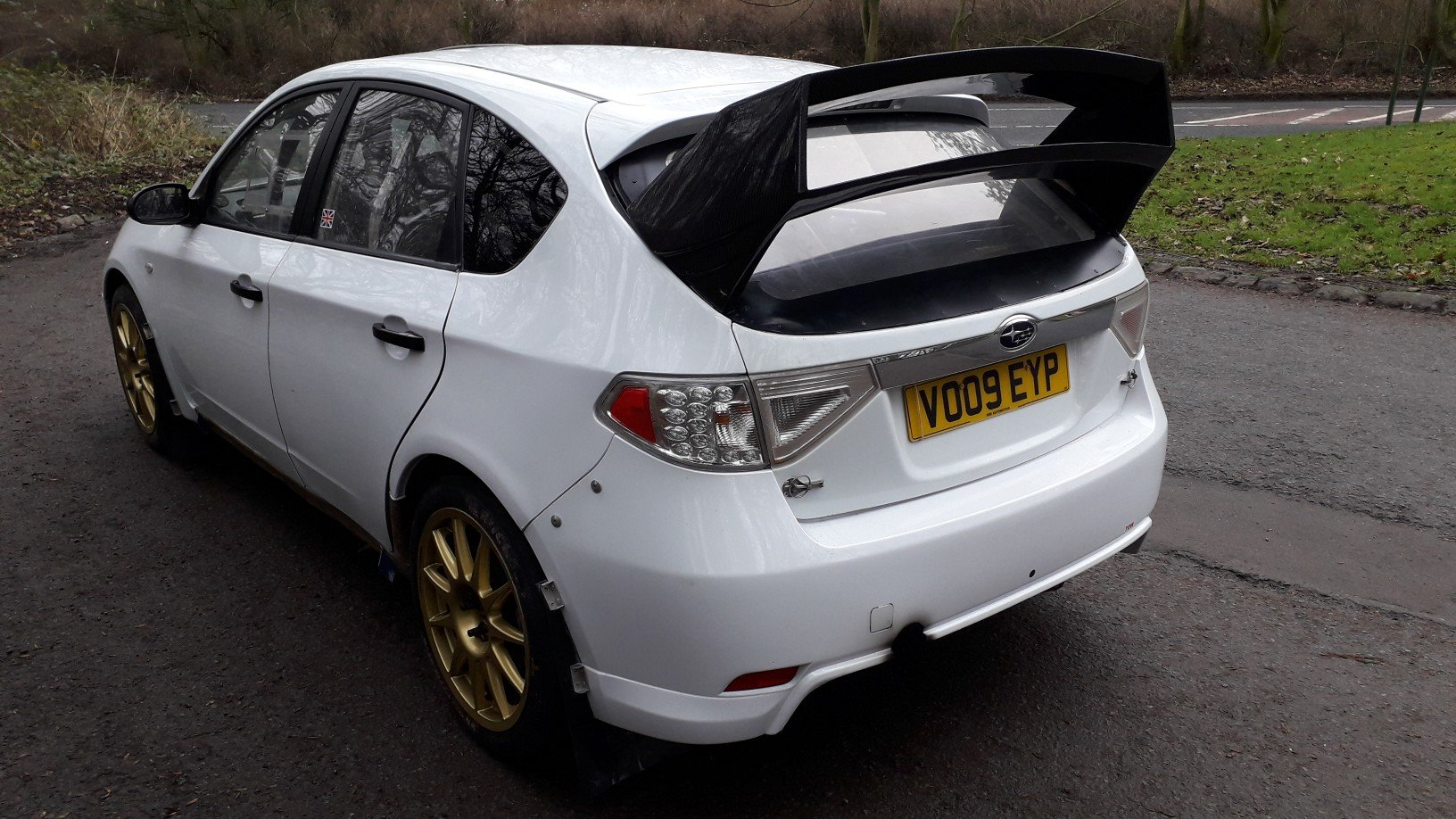 2009 subaru impreza n14 rally car full msa legal ready to rally  For Sale (picture 4 of 6)