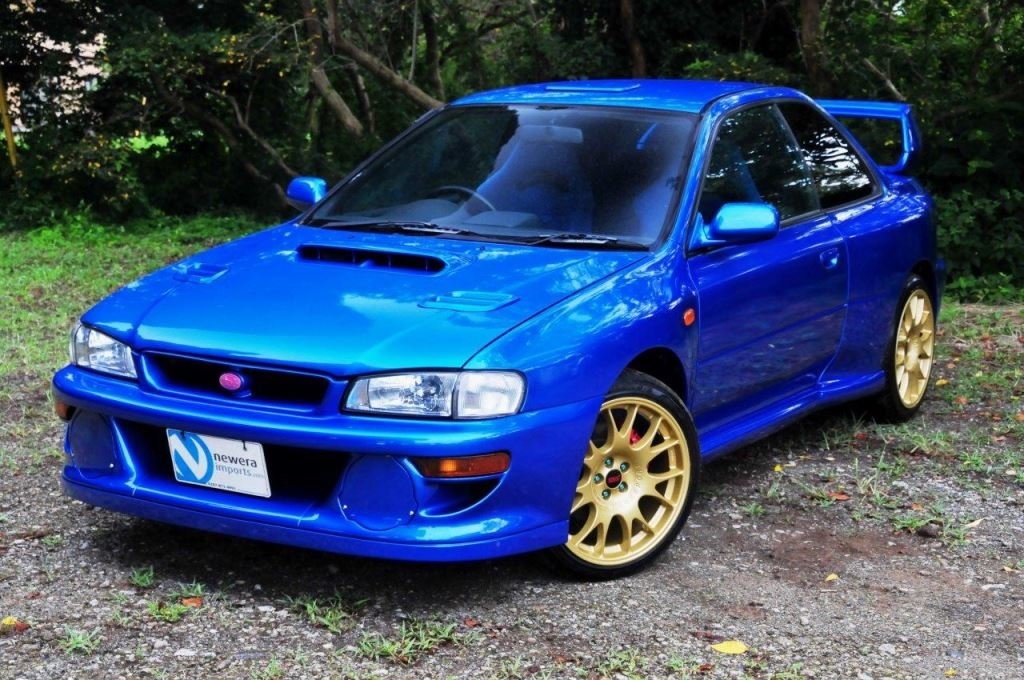 2000 Impreza 22B Tribute by Launsport Japan  One of last