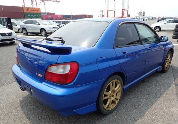 2001 SUBARU IMPREZA STI JDM BUG EYE ON ITS WAY FROM JAPAN  For Sale (picture 4 of 6)