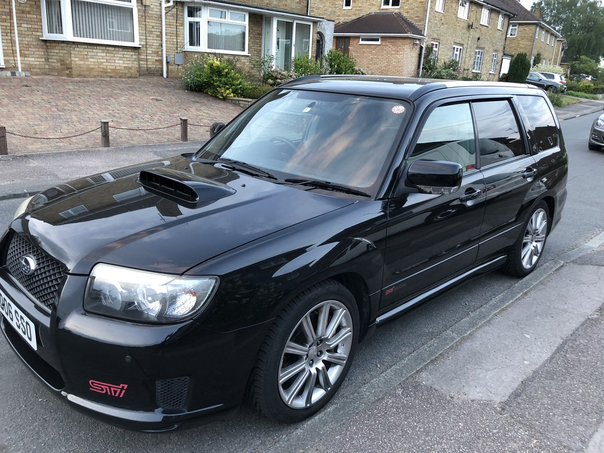 2006 SUBRAU FORESTER STI 2.5 TURBO 330 BHP For Sale (picture 2 of 6)