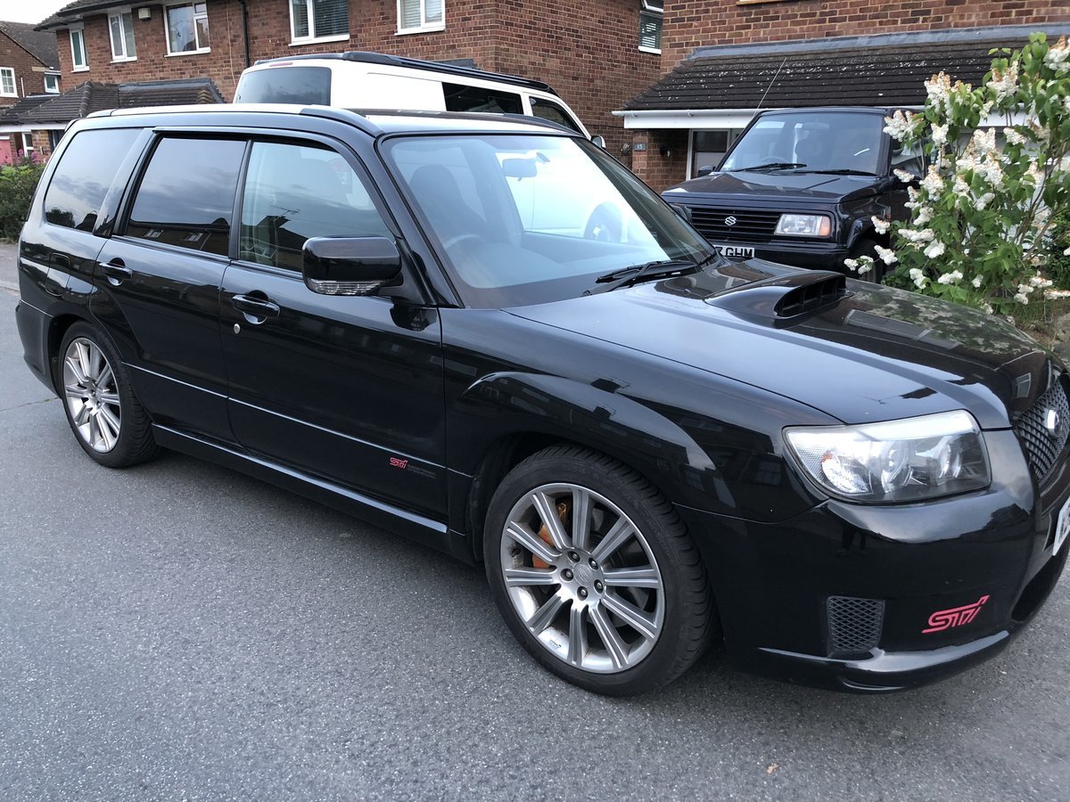 2006 SUBRAU FORESTER STI 2.5 TURBO 330 BHP For Sale (picture 3 of 6)