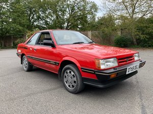 *NOVEMBER AUCTION* 1986 Subaru RX Turbo Coupe For Sale by Auction